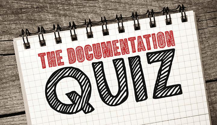 Documentation-Quiz-Blog-11-07-2014