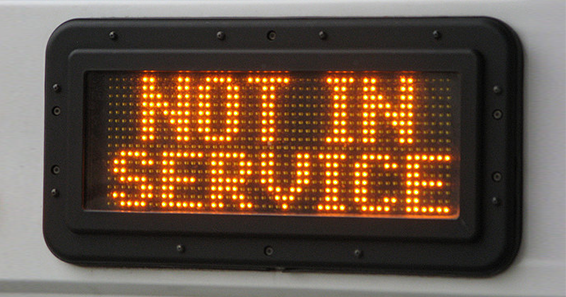 What Service Is Not Available